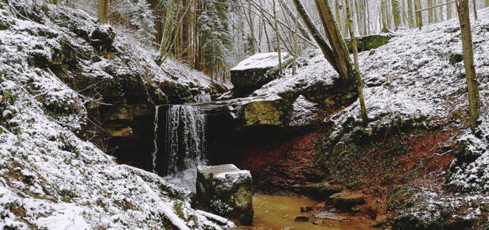 Wasserfall Trettstein Gräfendorf Saaletal Eidenbach Dittlofsroda Rhon